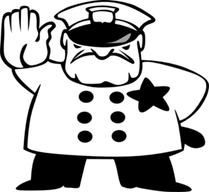 Monochrome clipart policeman Clipart cliparts Black And Police