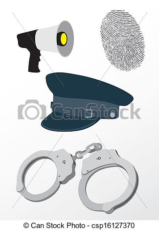 Police clipart police equipment #2