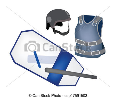 Police clipart police equipment #6
