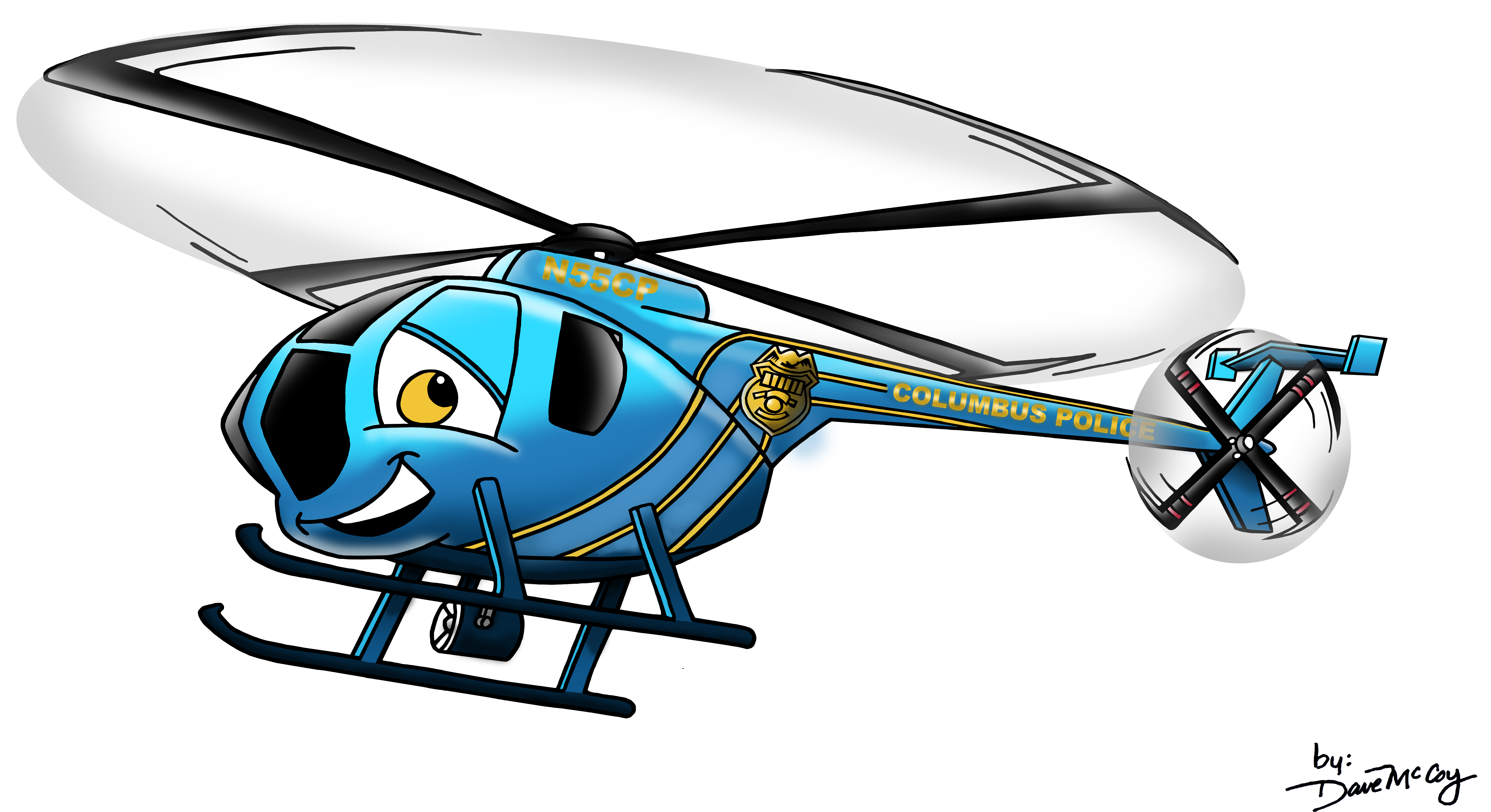 Police clipart police helicopter  POLICE Media HELICOPTER COLUMBUS
