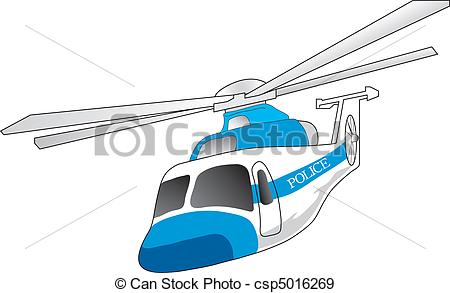 Police clipart police helicopter Vector illustration EPS helicopter Vectors