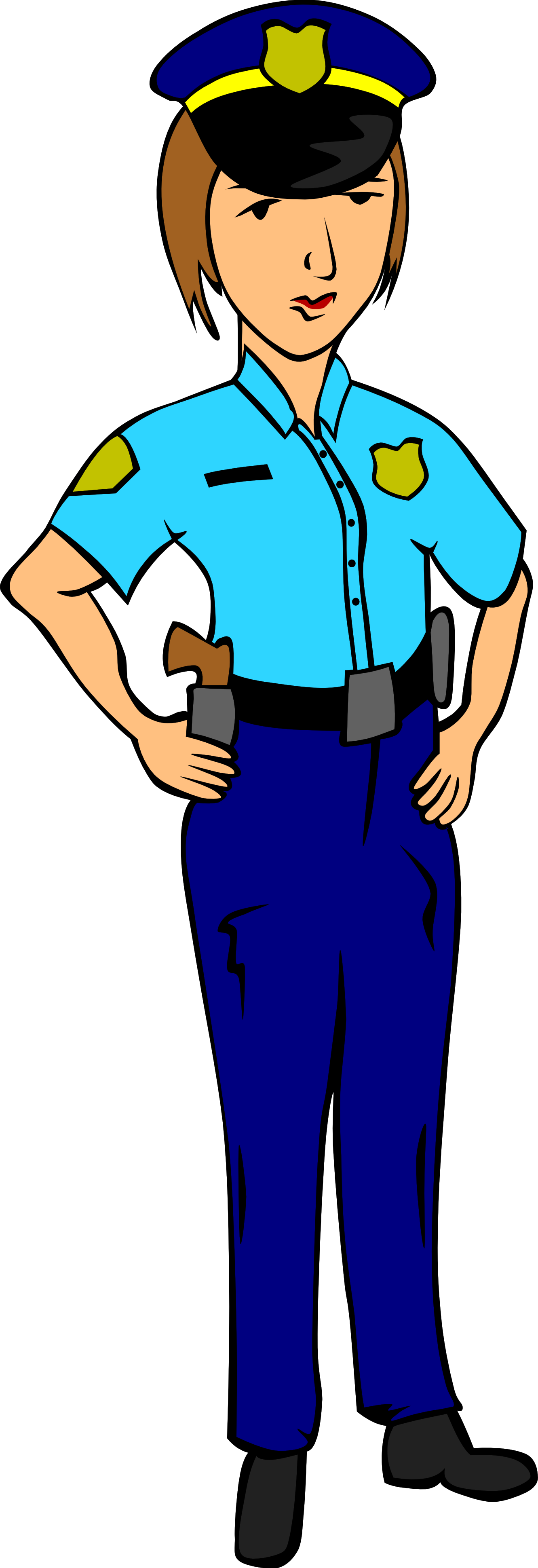 Firefighter clipart police officer Clipart Panda Police Clipart Female
