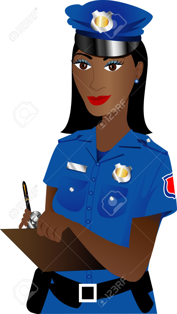 Woman clipart police Officer Police collection officer Clipart