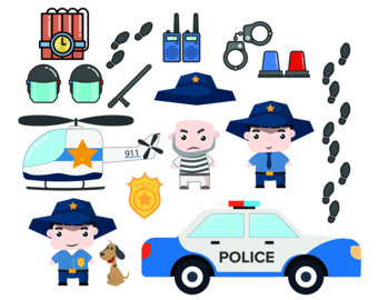 Police clipart police station #6