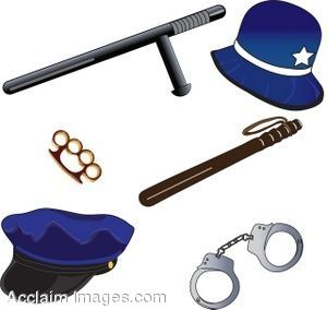 Light Blue clipart police equipment Clip For Clip My Detective