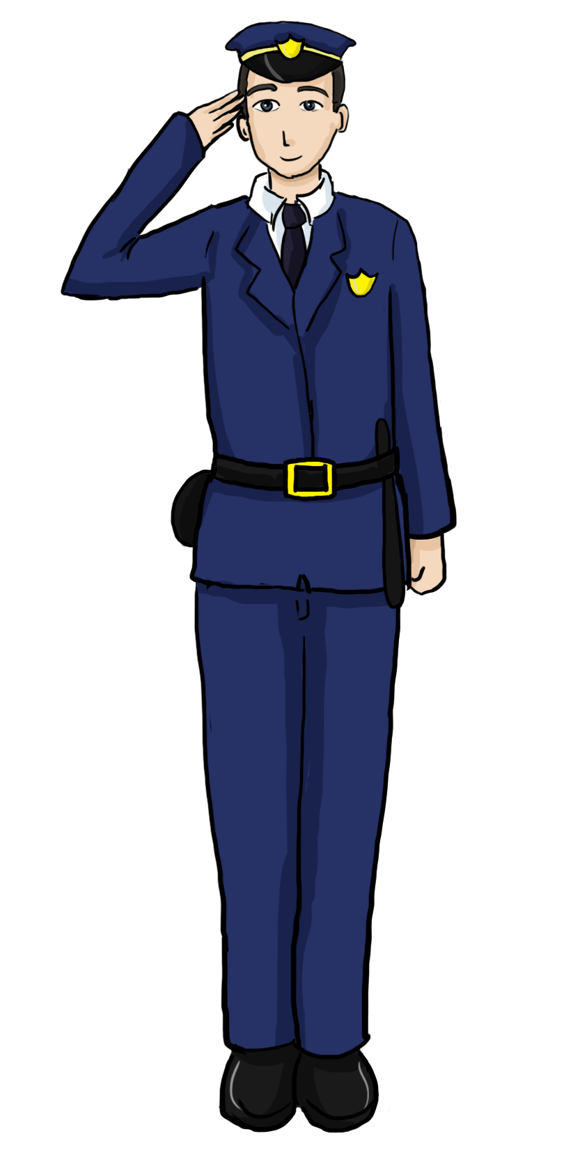 Clipart officer 2 2 art