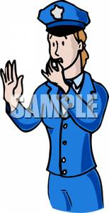 Police clipart police whistle Whistle Blowing Blowing A Police