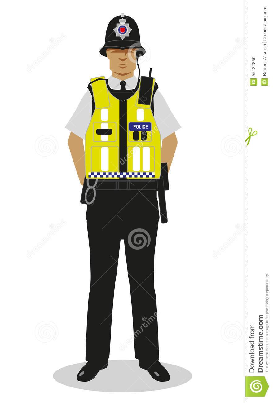 Police clipart policman Stock Policeman Vis Hi uk