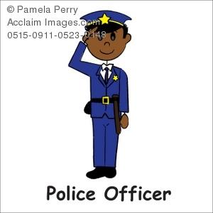 Police clipart policman Of Clip Officer Illustration Art