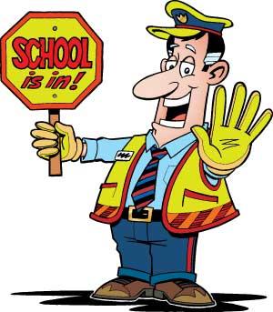 Traffic clipart school traffic #1