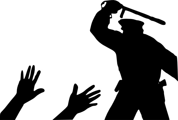 Police clipart silhouette #2