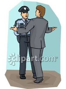 Suit clipart police Of Officer In Free Talking