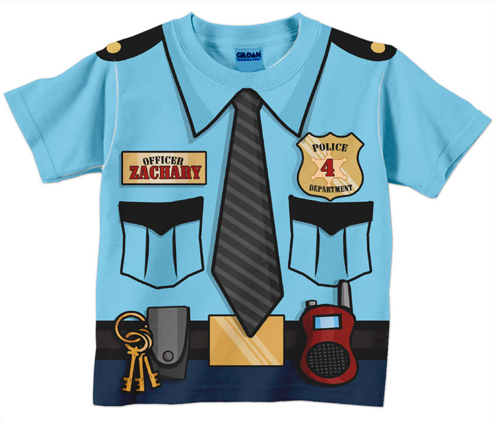 Suit clipart police Personalized Policeman item? Birthday Officer