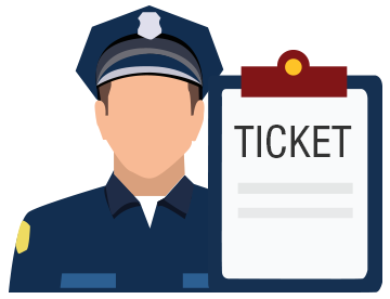 Traffic clipart traffic ticket Tickets Officers Accidents Traffic Image