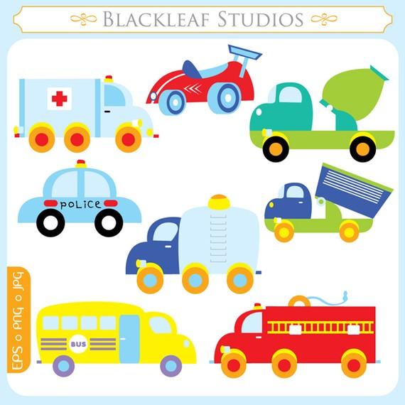 Vehicle clipart mode transport Truck ambulance car car Commercial