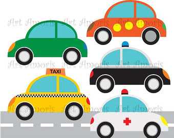 Toy clipart taxi #6