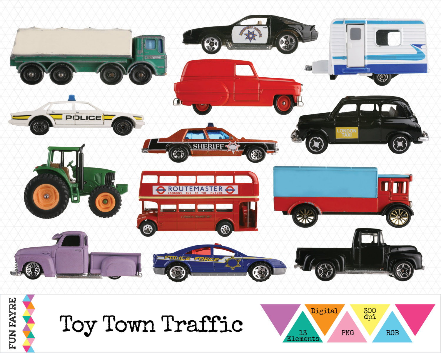 Toy clipart taxi #8