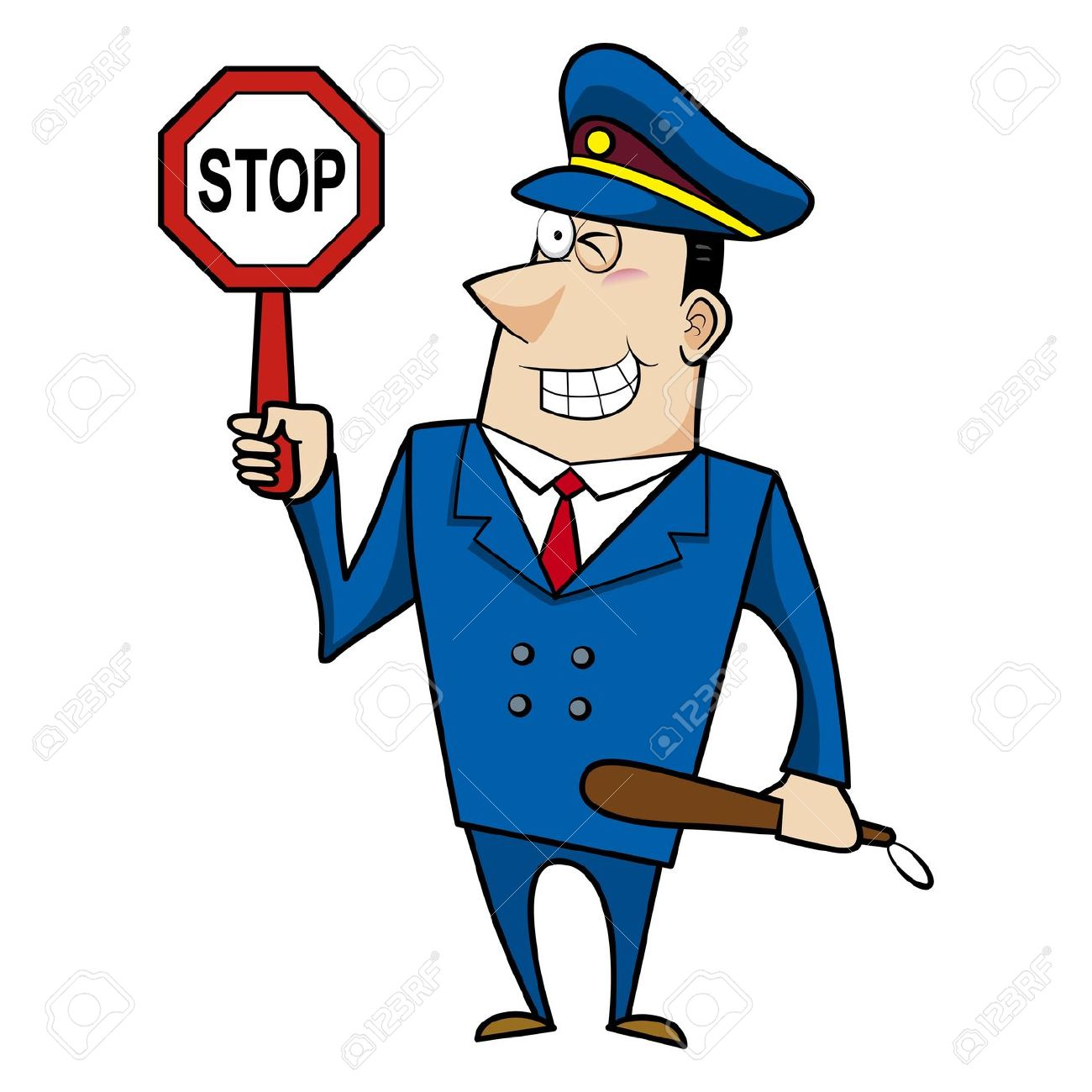 Police clipart traffic police Clipart Clipartwork art Clipart of