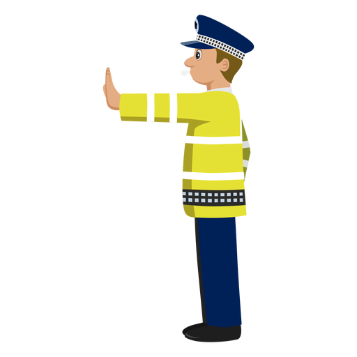 Traffic clipart traffic policeman #3