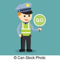 Traffic clipart traffic policeman #2