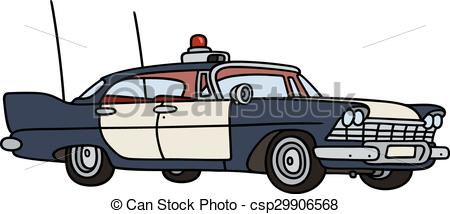Classic Car clipart vintag Old of Vector Old drawing