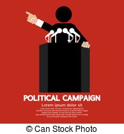 Political clipart campaign  Patriotic mictoon39/2 Voting poster