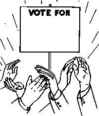 Political clipart campaign #P46 5 Political Clip Art