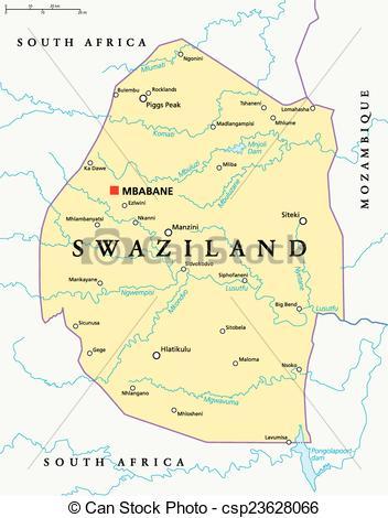 Political clipart capital Swaziland of Political Art Clip