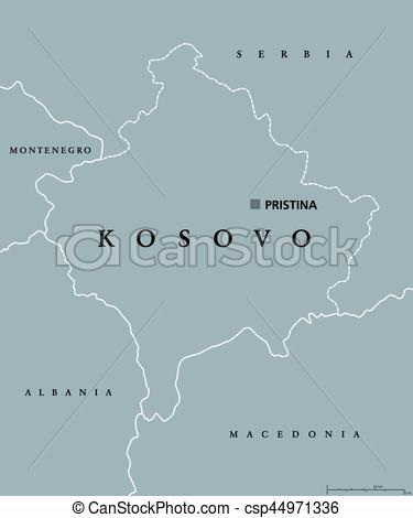 Political clipart capital Of Vectors Kosovo Pristina capital