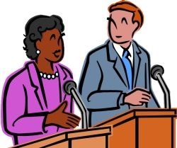 Suit clipart debate team Clip Clipart Art Debate –