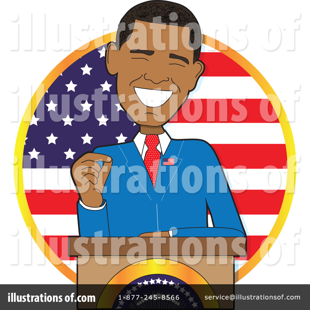 Political clipart obama Cps Rf By Stock Obama