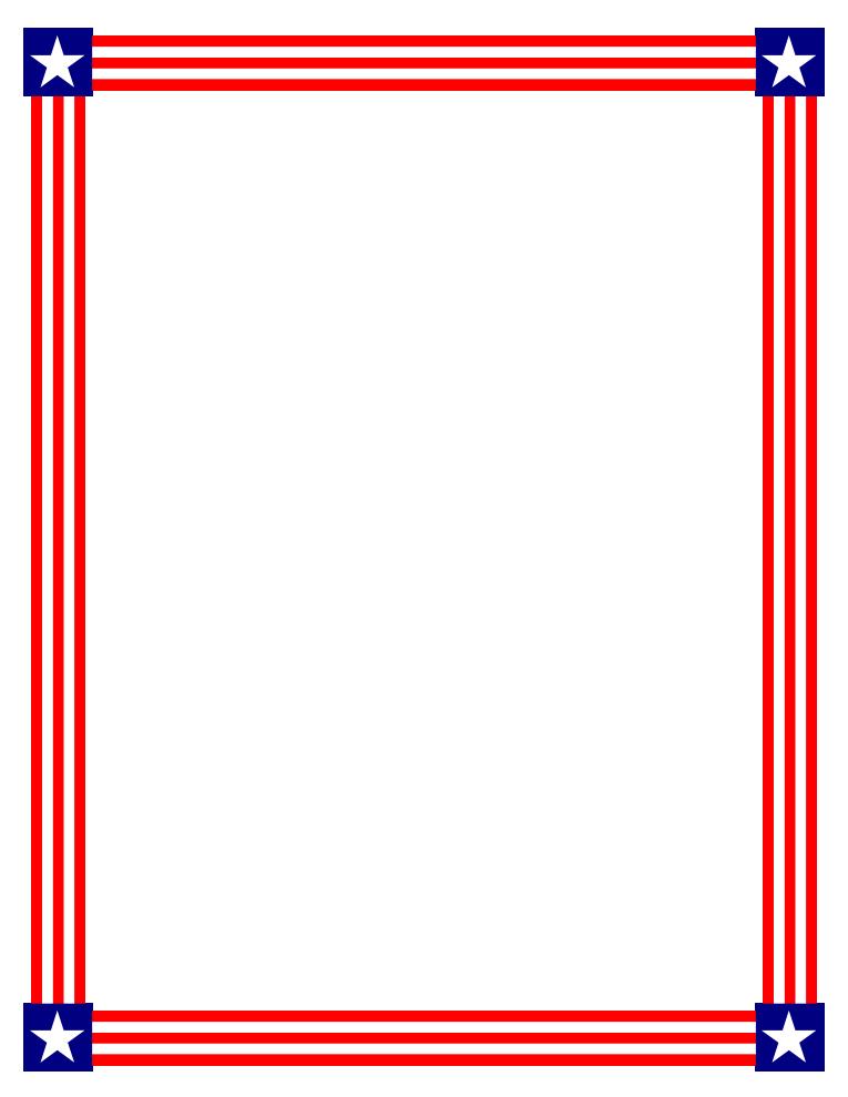 Stripe clipart frame #8