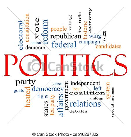 Right clipart political system  Politics Concept Art great