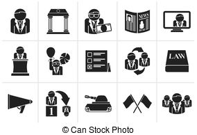 Political clipart political party Political Clip party election Vector