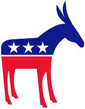 Political clipart political party Democratic Free party donkey USA