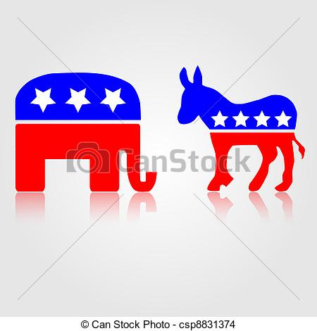 Politics clipart Political Republican and  Political