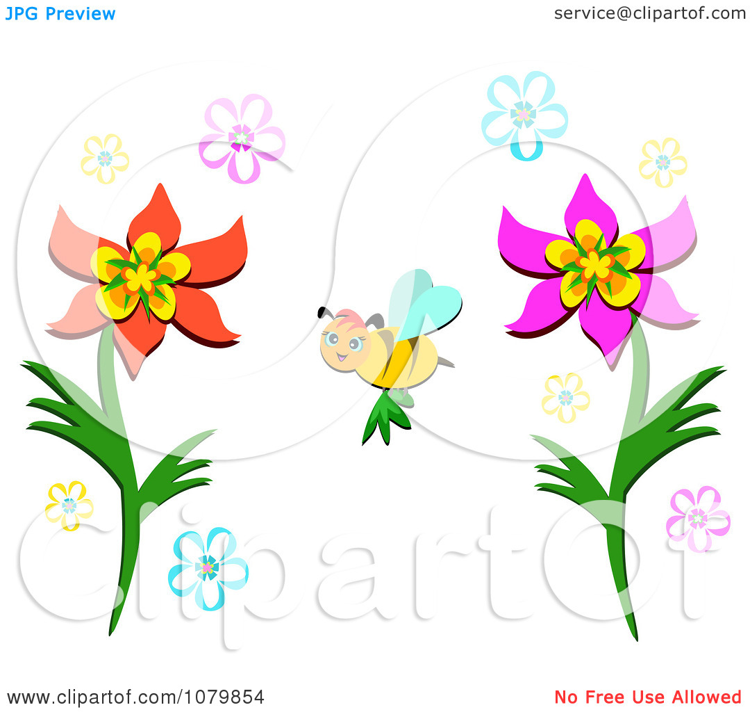 Pollination clipart Clipart Pollination Pollination cliparts Bee