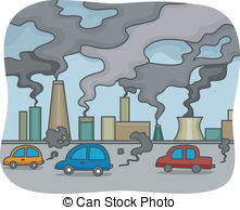 Pollution clipart city pollution  Illustrations of Air 52