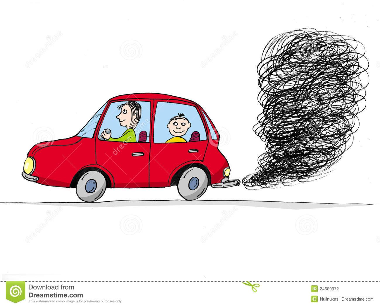 Pollution clipart auto #7