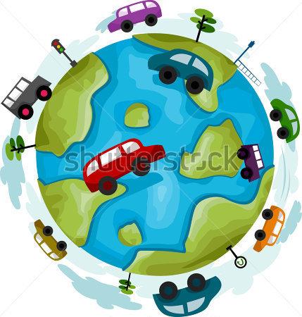 Pollution clipart automobile 429x450 Car Clip De Pollution