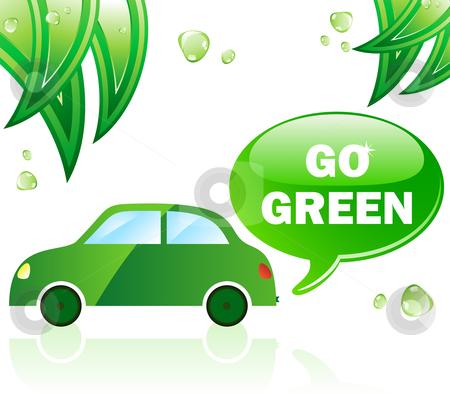 Pollution clipart automobile Ecology Car vector Green Go