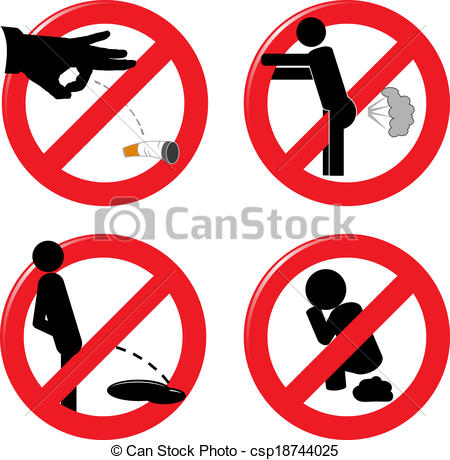 Pollution clipart behavior Illustration and for  Vector
