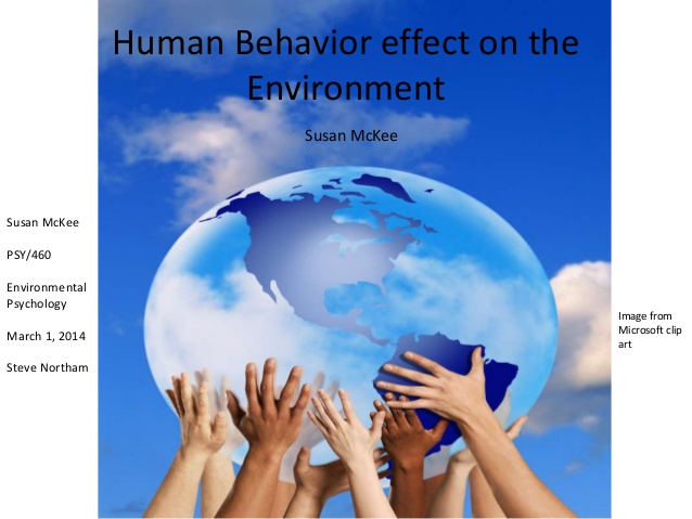 Pollution clipart behavior The behavior Susan Psychology effect