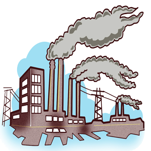 Pollution clipart city pollution Under Sulphur P three Dioxide