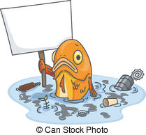 Sea clipart polluted #5