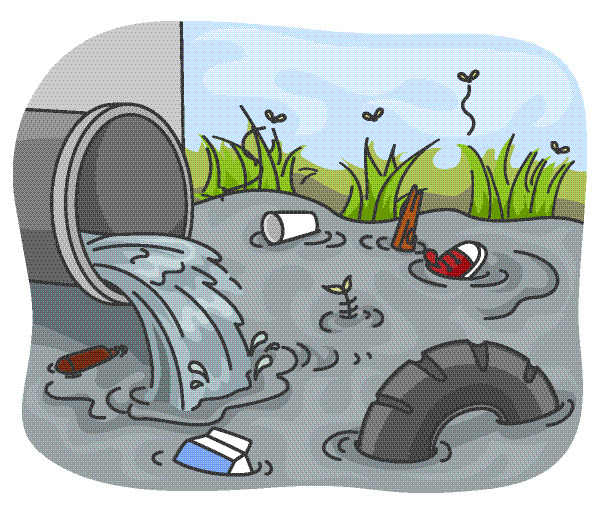 Pollution clipart environmental water #12