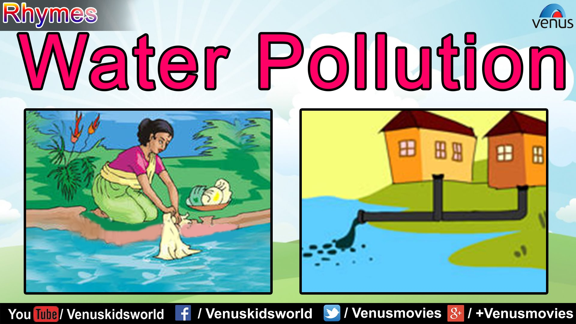 Pollution clipart for kid Water  YouTube Pollution