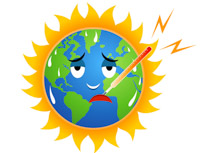 Pollution clipart global warming #15