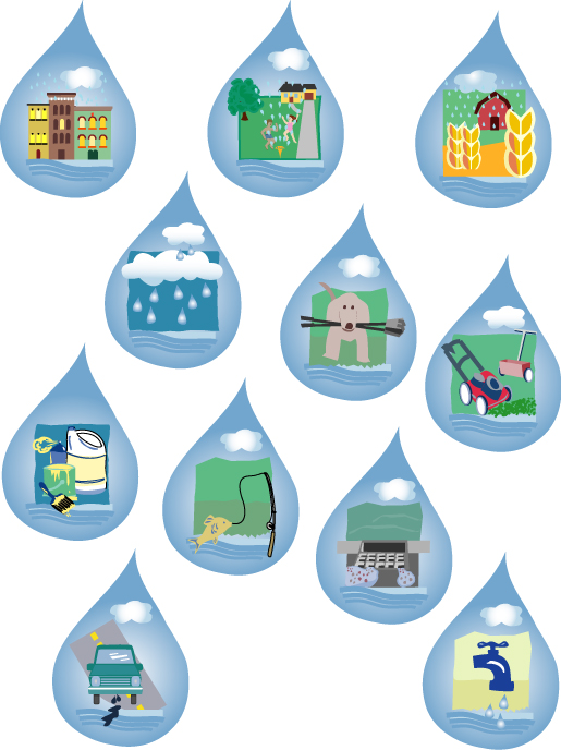 Pollution clipart industrial wastewater Water Pollution collection Wastewater Art