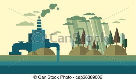Nature clipart pollution #7